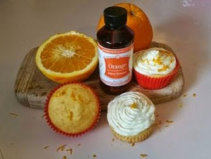 Mr. Bhaer's Orange Cupcakes